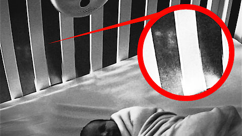 Ghosts seen on nanny cam leads to scratches and bite marks