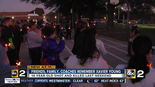 Family and Friends hold prayer vigil for 14-year-old killed in Laurel - Video