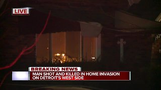 Police investigating deadly home invasion in Detroit