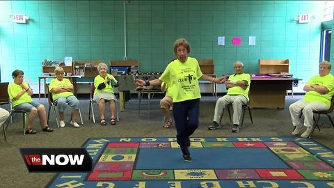 At 96, she still jumps rope and teaches fitness classes