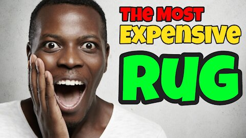 The Most Expensive Rug On Amazon | Click Link In Description