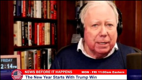 Dr Corsi NEWS 01-01-21: The New Year Starts With Trump Win