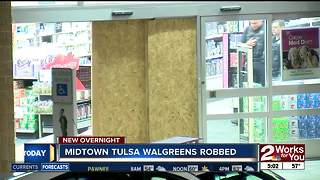 Midtown Tulsa Pharmacy robbed again overnight - Video