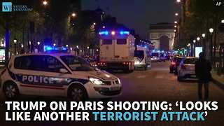 Trump On Paris Shooting: 'Looks Like Another Terrorist Attack' - Video