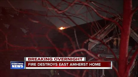 Overnight fire in East Amherst causes $400,000 worth of damage