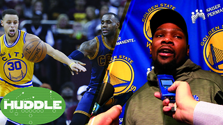 Kevin Durant TRASHES the NBA Combine, Are the Warriors/Cavs the New Lakers/Celtics? -The Huddle - Video