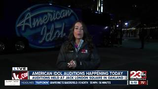 Local residents try out in Oakland American Idol auditions - Video