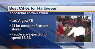 Las Vegas ranked 5th best for Halloween
