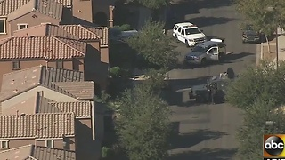 Police trying to make contact with robbery suspect in Gilbert - Video