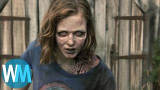 Top 10 Depressing Walking Dead Deaths - Video