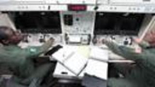 Rare Look Inside Underground Missile Launch Site - Video