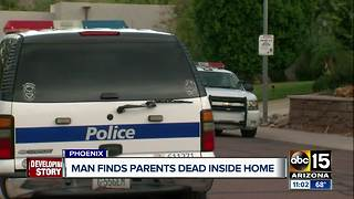 Two found dead inside Phoenix house - Video
