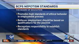 Baltimore Co. School Board to discuss nepotism policy - Video