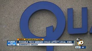 Possible tech merger could affect local jobs - Video
