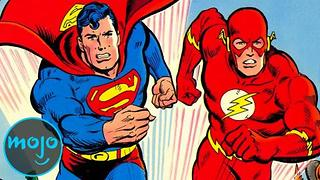 Top 10 Fastest Superheroes - Video