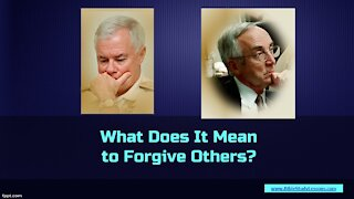 Video Bible Study: Forgiving Others