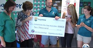 Local company honors military dogs