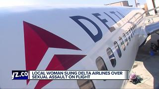 Local woman suing Delta Airlines over sexual assault on flight