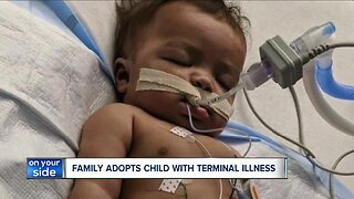 Unconditional love drives Kent couple's adoption of terminally ill toddler