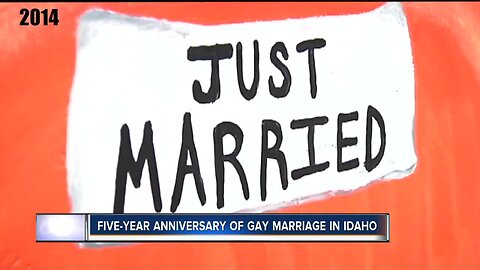 Five year anniversary of gay marriage legalization in Idaho