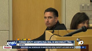 Ex-deputy agrees to plead guilty ahead of sexual misconduct trial
