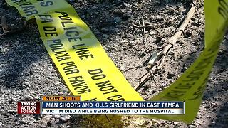 Man shoots and kills his girlfriend - Video