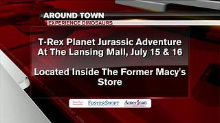 Around Town 7/14/17: T-Rex Planet Jurassic Adventure - Video