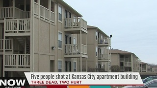 Three people killed, two injured in shooting at KC apartment building - Video