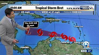 Midday tropical update (6/20/17) - Video