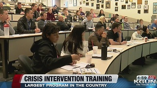 Tucson Police host largest Crisis Intervention Training Program in the country this week - Video