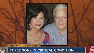 Memphis Couple Missing After Wildfires; Sons Hospitalized In Nashville - Video