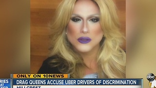 Drag queens accuse Uber drivers of discrimination - Video