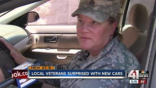 Local group gives cars to veterans in need - Video