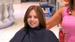 Kids' Long, Layered Haircut - Video
