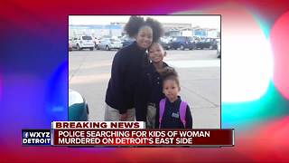 Man and woman shot and killed inside home on Detroit's east side - Video