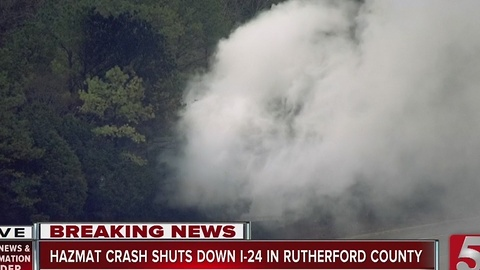 Murfreesboro Residents Evacuated After Spill On I-24