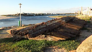 SOUTH AFRICA - Cape Town - Commodore II shipwreck (Video) (UN3)