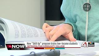 "New ""Skill Up"" program trains students with low income - Video"
