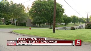 Goodlettsville Homeowner Shot At While Confronting Suspects - Video