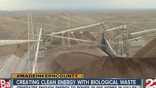 Made in Kern County Mt Poso power plant - Video
