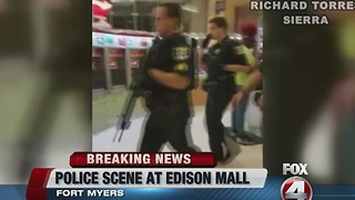 EDISON MALL SHOTS FIRED - Video