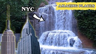 Secret Waterfall Is The Hidden Gem Shining In The Heart Of New York City - Video