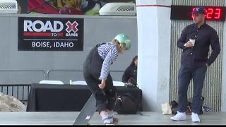 Poppy Starr Olsen at Boise X Games Qualifier - Video