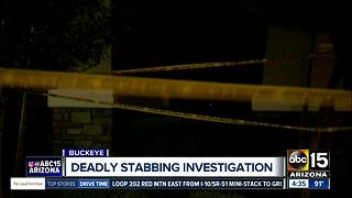 Police: One killed in Buckeye stabbing, suspect in custody - Video