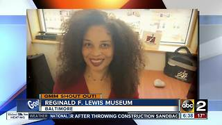 Good morning from the Reginald F. Lewis Museum! - Video