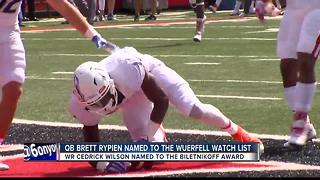 BSU has 6 palyers named to 11 Post Season Watch List - Video