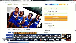 Chad Johnson helps to send a Baltimore track team to the Junior Olympics - Video