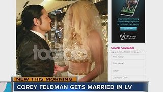 Corey Feldman married in Las Vegas - Video