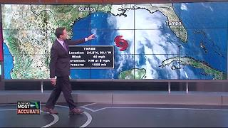 Potential Tropical System forms in the Gulf - Video