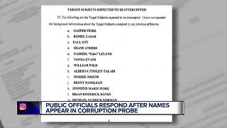 New names of public officials emerge in federal corruption investigation - Video
